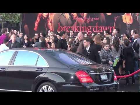 Twilight Saga Breaking Dawn World Premiere Los Angeles ...
