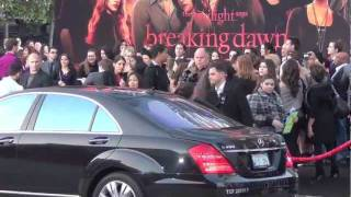 Twilight Saga Breaking Dawn World Premiere Los Angeles