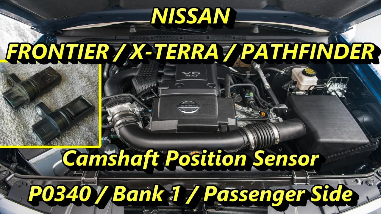 maxresdefault camshaft position sensor nissan frontier pathfinder xterra youtube  at bayanpartner.co