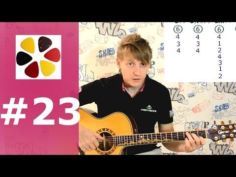 Уроки игры на акустической гитаре с нуля для начинающих (урок 23) Это все- ддт/разбор