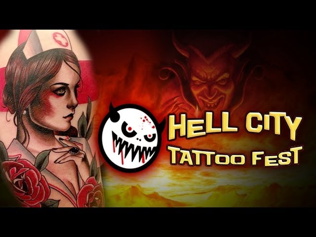 TATTOO CONVENTION COVERAGE - Hell City Fest Phoenix 1 of 3