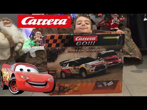 (JOUET) Ouverture du circuit électrique CARRERA GO de Sébastien Loeb !!!! – Kid Studio Test