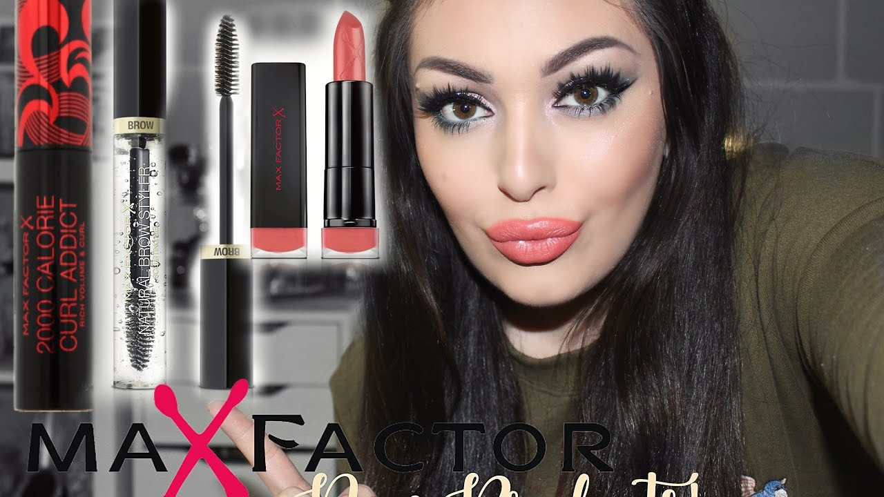 69363af3e1e MAX FACTOR NEW PRODUCTS REVIEW ♥ Smashing Darling x - YouTube