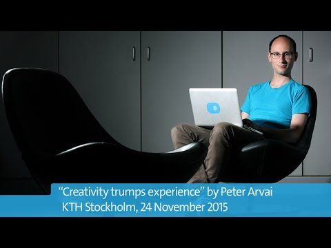 Peter Arvai - Creativity trumps experience