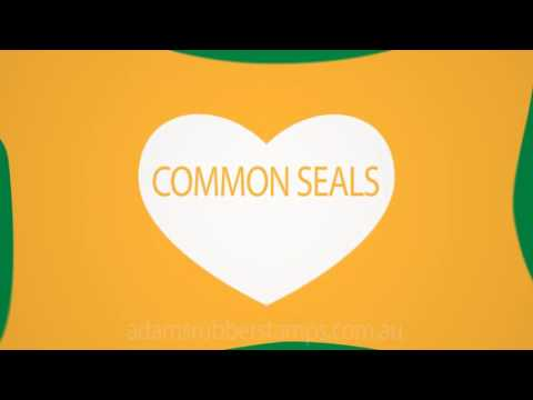Common Seal, Melbourne Adams Rubber Stamps Melbourne