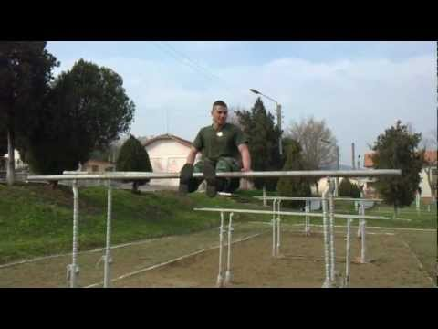 Bulgarian army soldier - Six pack workout
