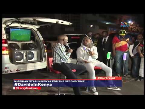 Davido's exclusive interview on #theTrend