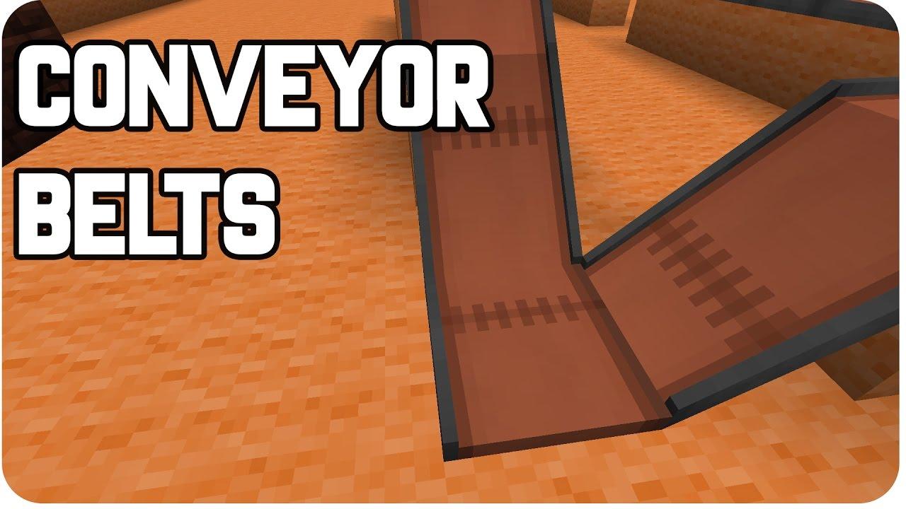 TUTORIAL IMMERSIVE ENGINEERING CONVEYOR BELTS YouTube - Minecraft eden spielen