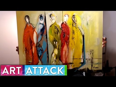 IDENTITY Timelapse Painting by KOKO | Art Attack