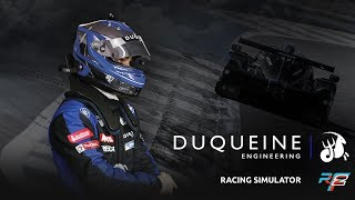Duqueine Engineering Racing Simulator using rFactor 2