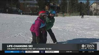 Ski Trip For Children With Disabilities