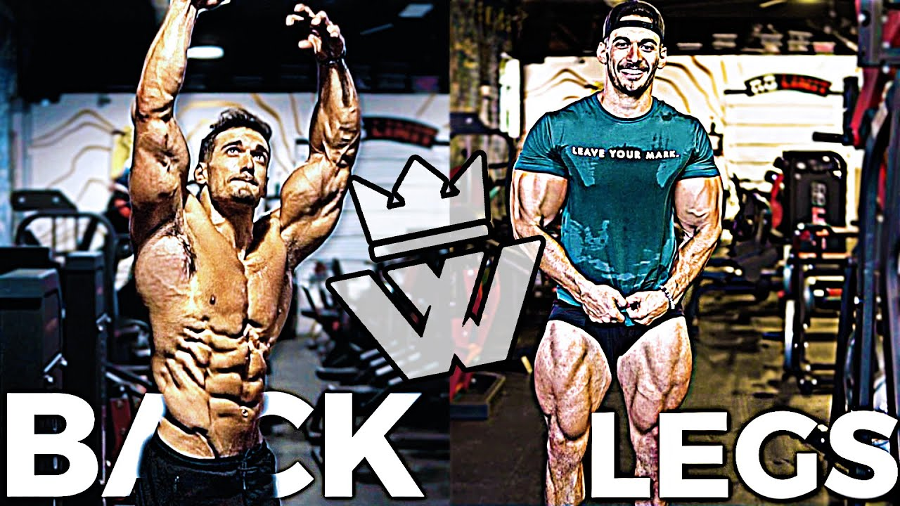 Ultimate BACK & LEGS Workout | 16 Exercises for Muscle MASS