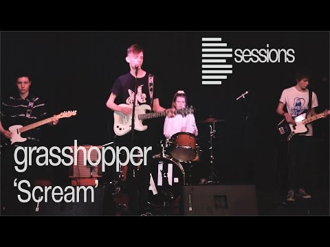 grasshopper - 'Scream': Punk Rock Band From Brighton - Live Music Session (Bsession)