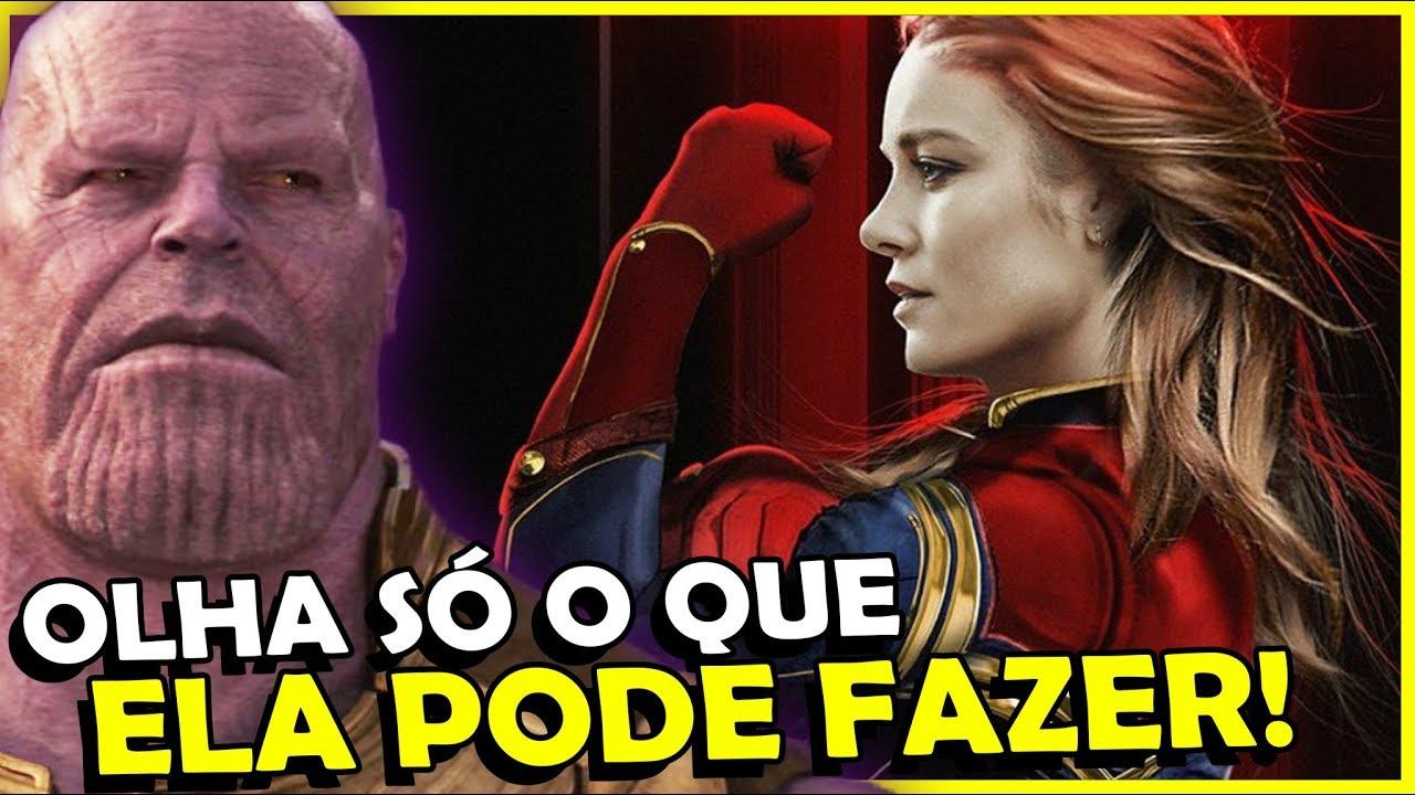 Motivos pro THANOS  ter MEDO da Capitã Marvel