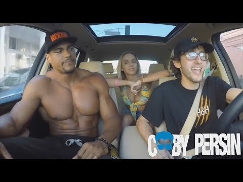 Body Builder Shocked By Rapping Uber Driver!