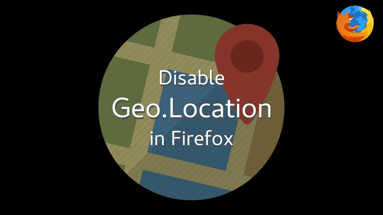 firefox geolocation