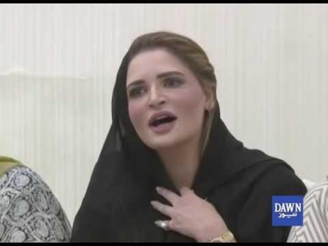 Ayesha Ahad demands parliamentary probe into Hamza Shehbaz