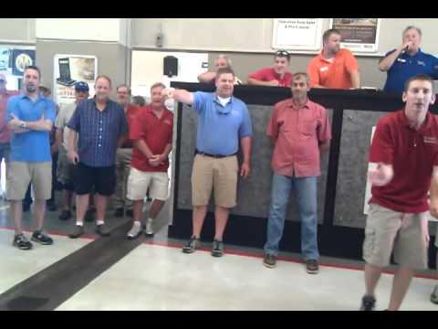 Tennessee auto Auction closing.  Manheim last car.