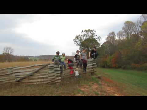 Eades Family trip to the Appomattox Historical Park