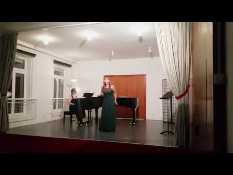 """Nedda's Aria """"Qual Fiamma Avea"""" (I Pagliacci) R. Leoncavallo"""