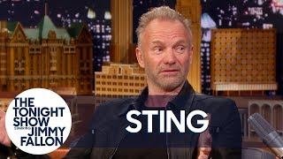 Sting Lived in a Haunted House and Definitely Believes in Ghosts Now