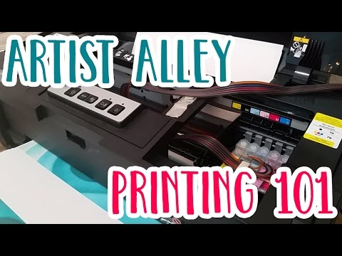 Printing 101: How to Save $$$ on Artist Alley Printing