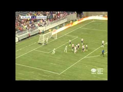 Highlights Milan 3-0 Chivas de Guadalajara
