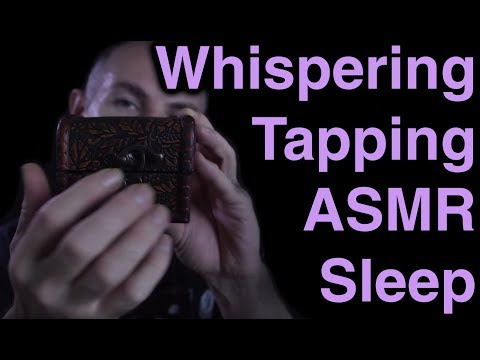 ASMR Touch Tapping 10 & Whispering