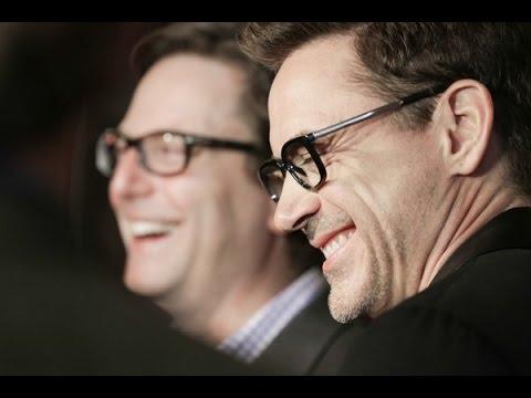 Robert Downey Jr. and David Dobkin at the Heartland Film Festival