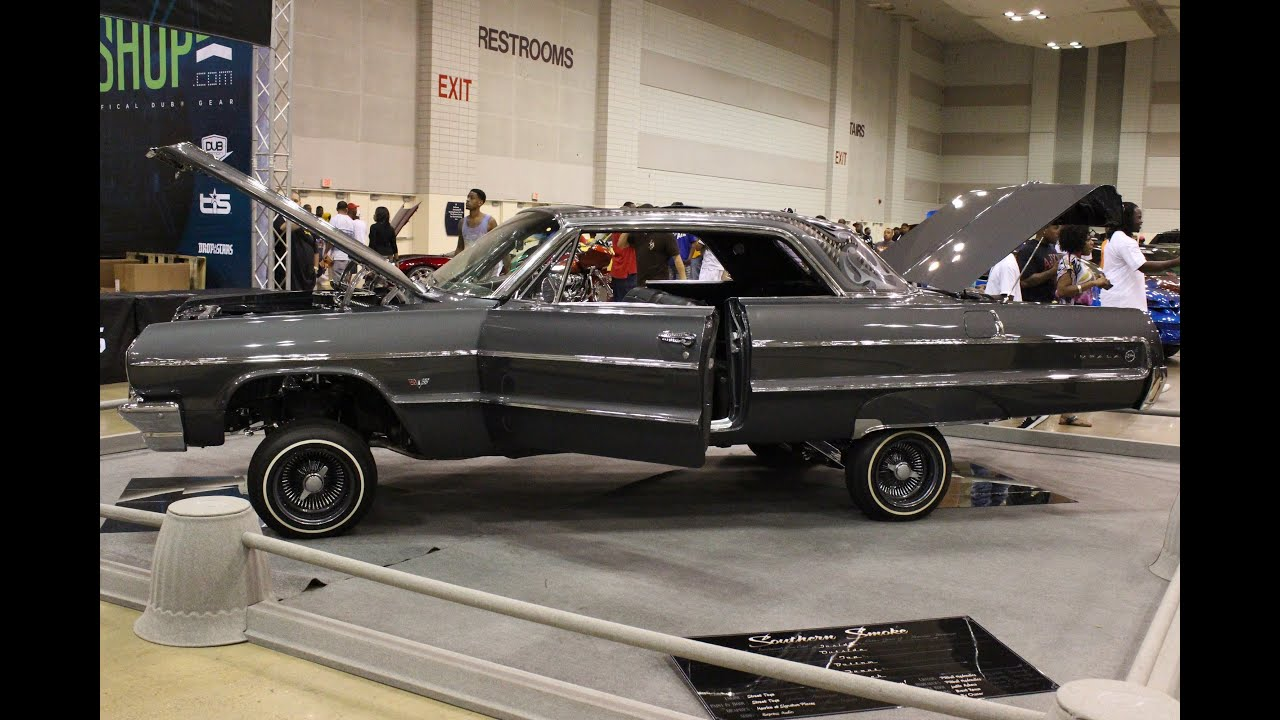 Old School Impala Lowrider On Display Memphis Dub Car Show