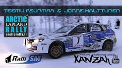 Asunmaa Racing Arctic Lapland Rally 2016