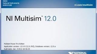 установка Multisim 12.0 на Windows 7 x32 sp0