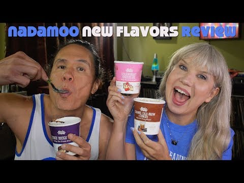 Vegan Ice Cream Taste Test & Giveaway! New NadaMoo Flavors