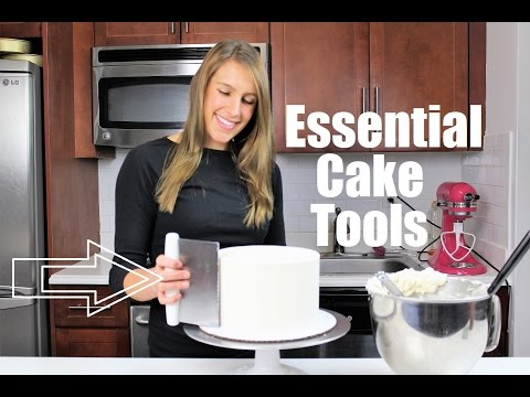 Essential Cake Tools | CHELSWEETS