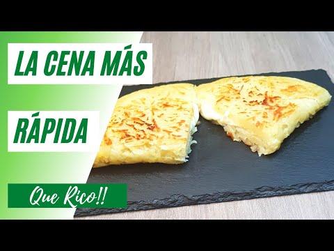 La cena más rápida con solo 3 ingredientes #shorts Que Rico!! #8