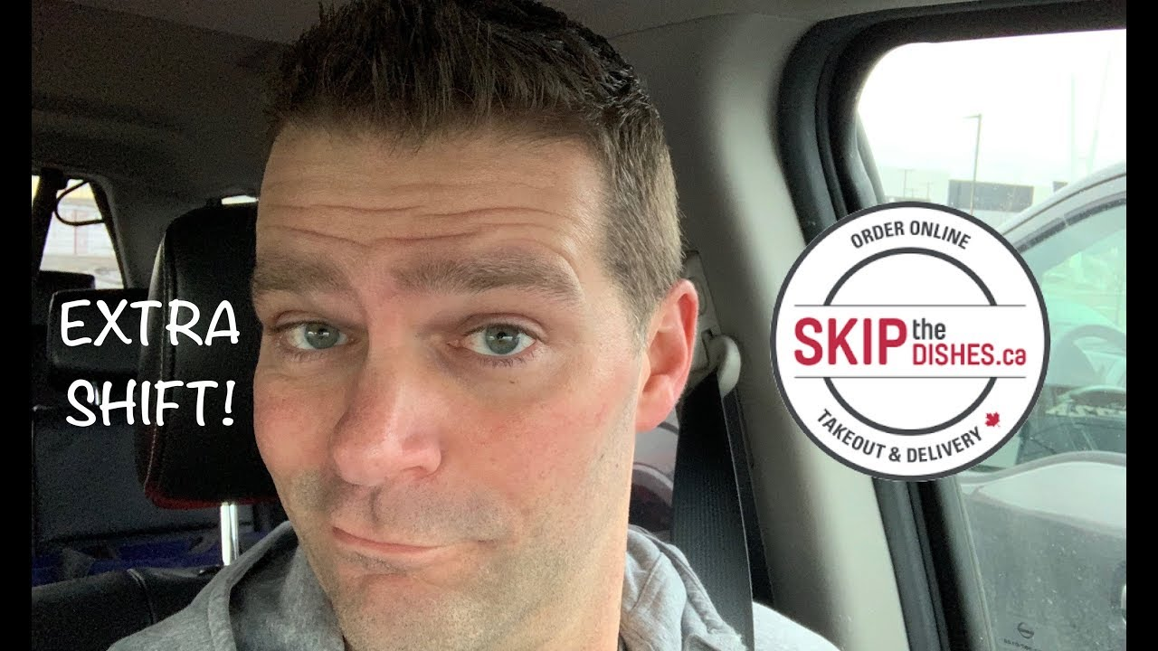 SkipTheDishes Reality TV Episode 18, Picked up an extra shift for Skip The Dishes