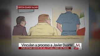 Vinculan a proceso a Javier Duarte