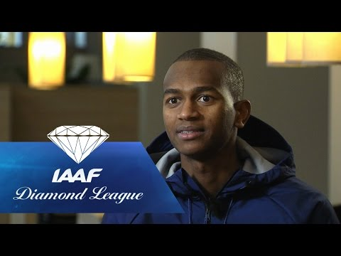 Throwback: High Jumper Mutaz Barshim about his 2.43m jump, 2nd highest ever - IAAF Diamond League
