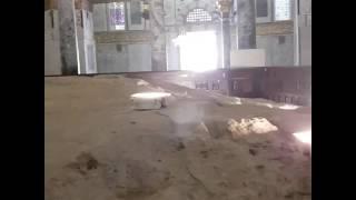 הר הבית . צילום אבן השתיה מקום בית המקדש