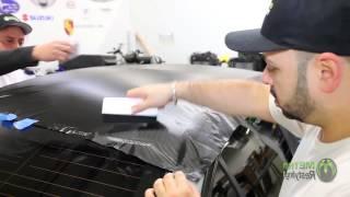 Обтяжка крыши автомобиля пленкой карбон 3m 1080(Длительность: 03:05 Источник: youtube.com/watch?v=_-4q8hTTHZw Эта пленка имитирует внешний вид углеродного волокна, использ..., 2015-03-24T03:55:13.000Z)