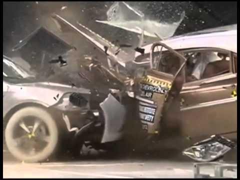 Old Vs New Chevrolet Crash Test