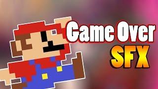 Game-Over SFX #58 | Cancion GameOver Mario Bros Efecto De Sonido | Free sounds