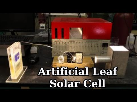 Artificial Leaf Solar Cell: Breakthrough Solar Cell captures CO2 and Sunlight, produces Fuel