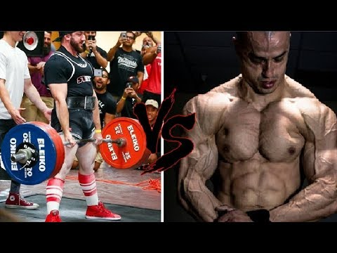 BODYBUILDER VS POWERLIFTER Diet (Offseason) Ft. Silent Mike & Alberto Nunez