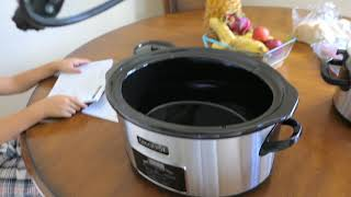 Crockpot The original Slow Cooker
