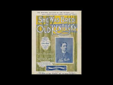 She Was Bred in Old Kentucky (1898)