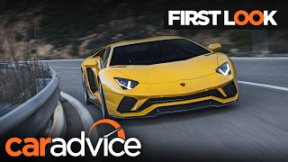 2017 Lamborghini Aventador S First Look review   CarAdvice