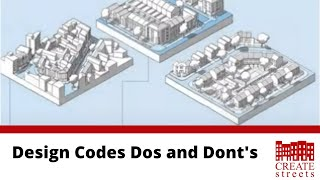 Design Codes Dos and Don'ts - Create Streets online panel discussion
