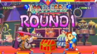 Pocket Fighter Game Sample - Playstation