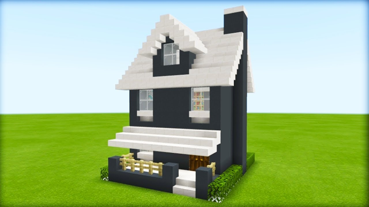 Minecraft Tutorial How To Make A Suburban House 2019 Tutorial Youtube